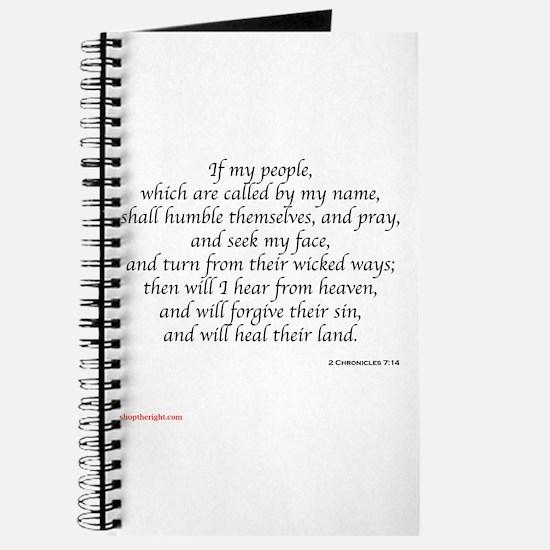 2 Chronicles 7:14 Journal