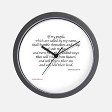 2 Chronicles 7:14 Wall Clock