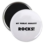 MY Public Analyst ROCKS! Magnet