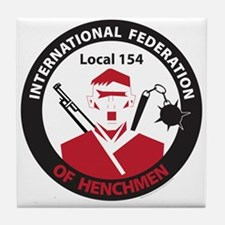 Henchmen's Union Tile Coaster