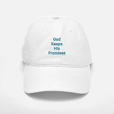 Blue God Keeps His Promises Baseball Baseball Cap