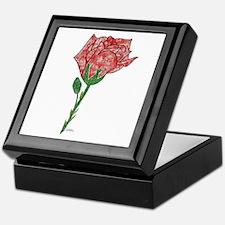 Gothique Rose - Red Keepsake Box
