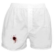 Funny Bloodied Boxer Shorts