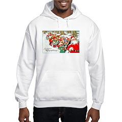 Merry Christmas Santa (Front) Hoodie