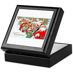 Merry Christmas Santa Keepsake Box