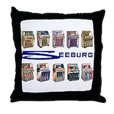 Seeburg Select-O-Matics Throw Pillow