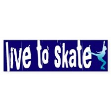 Figure Skating Bumper Stickers