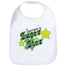 Gampa's Super Star Bib