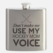 Funny Womens hockey Flask