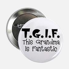 """Fantastic Grandma 2.25"""" Button"""