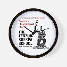Be a Sherpa Wall Clock