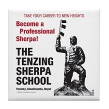 Be a Sherpa Tile Coaster