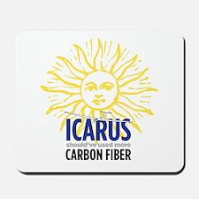 Icarus-Carbon Mousepad