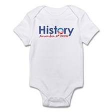 Obama History Nov 4 2008 Onesie