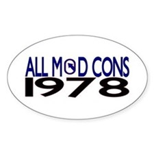 ALL MOD CONS 1978 Decal