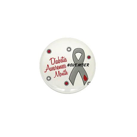 Diabetes Awareness Month 1.1 Mini Button