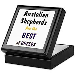 Anatolian Shepherd Best of Breeds Keepsake Box