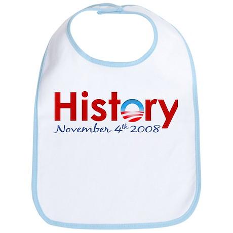Obama Makes History Bib