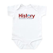 Obama Makes History Onesie