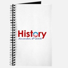 Obama Makes History Journal