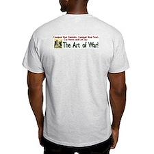 The Art of War (Tactics) Ash Grey T-Shirt