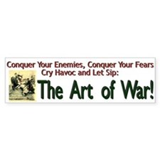 Art of War Bumper Bumper Sticker