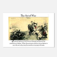Art of War (Tactics) Postcards (Package of 8)
