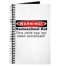 Warning! Homeschool Kid Journal