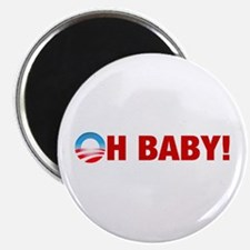 """Obama Oh Baby 2008 2.25"""" Magnet (100 pack)"""