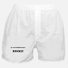 MY Psychobiologist ROCKS! Boxer Shorts
