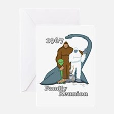 1967 Family Reunion Greeting Card