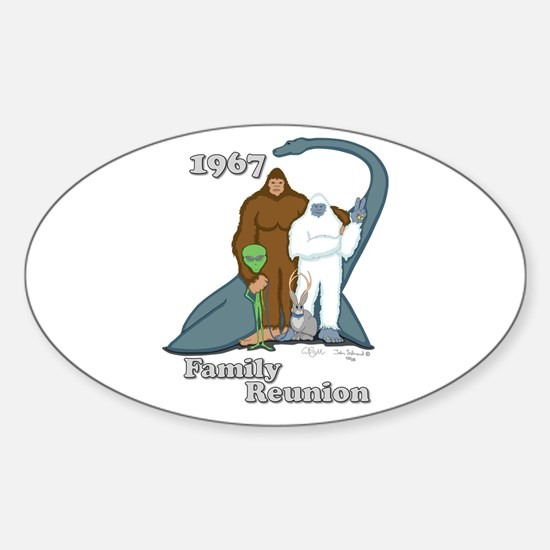 1967 Family Reunion Oval Decal