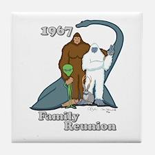1967 Family Reunion Tile Coaster
