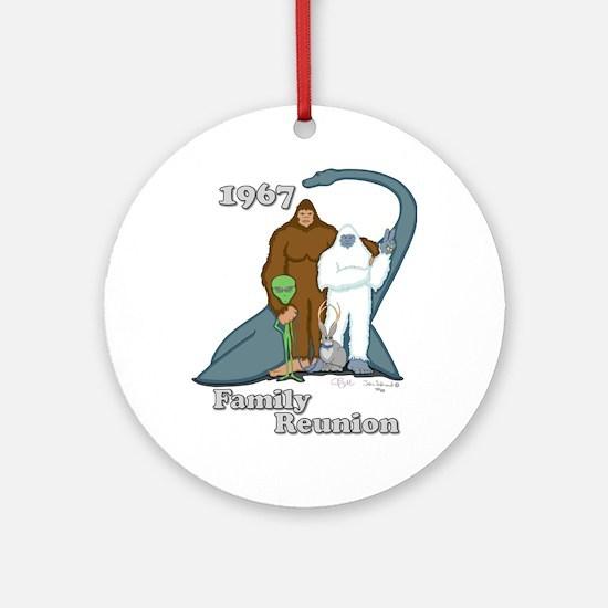1967 Family Reunion Ornament (Round)