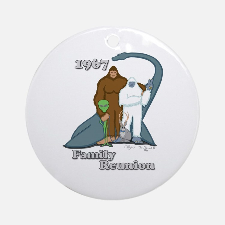 1967 Family Reunion Ornament (Round)