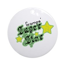 Gramps' Super Star Ornament (Round)