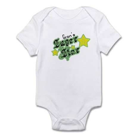 Gran's Super Star Infant Bodysuit