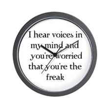 You're the freak? Wall Clock