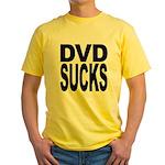 DVD Sucks Yellow T-Shirt