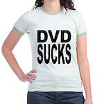 DVD Sucks Jr. Ringer T-Shirt