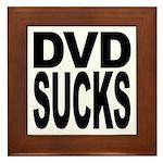 DVD Sucks Framed Tile