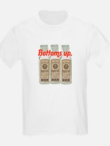 Bottoms up. T-Shirt