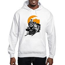 Steam Locomotive Train T-Shirt Hoodie