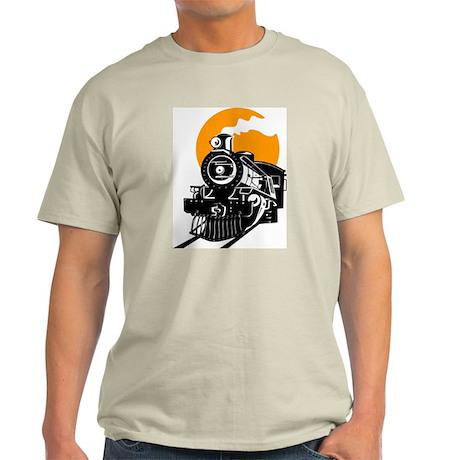 Steam Locomotive Train T-Shirt Light T-Shirt