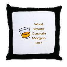 What Would Captain Morgan Do? Throw Pillow