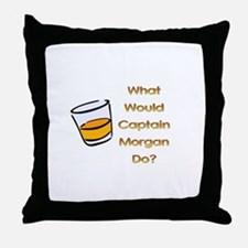 What Would Captain Morgan Do? Throw Pillow