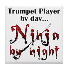Trumpet Ninja Tile Coaster