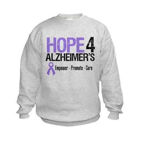 Alzheimer's Awareness Kids Sweatshirt
