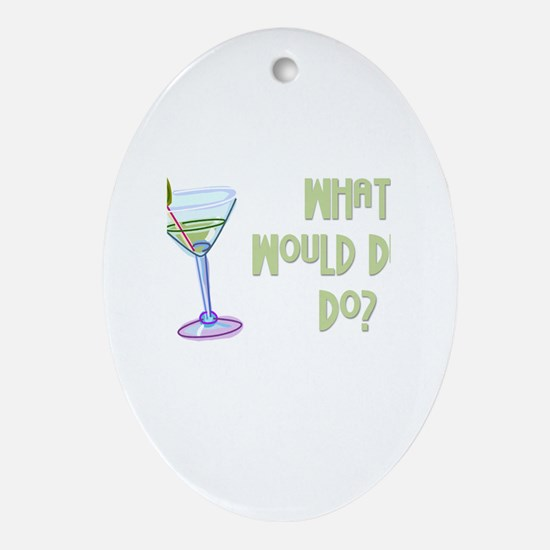 Humorous Oval Ornament