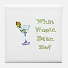 Humorous Tile Coaster
